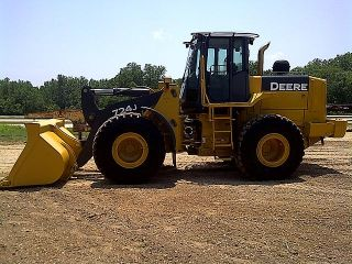 2004 John Deere 724J Rubber Tire Wheel Loader