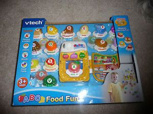 Vtech ABC Food Fun Fridge Magnets Alphabet 26 Letters Complete Set New in Box