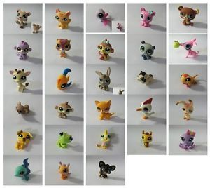 Littlest Pet Shop Cat Bear Fish Chihuahua Dog Cute Figure Girl Toys Choose PS2
