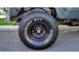 1998 Jeep Wrangler Sport Custom Lift Wheels Horn Tank and More