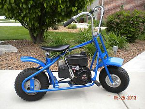 "New Custom Built Mini Bike 6 H P Power Sport Tecumseh Engine w ""Ape Hangers"""