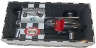 "Indianapolis BB Korn Aluminum Tether Car Replica Spindizzy Model 12"" Red Seat"