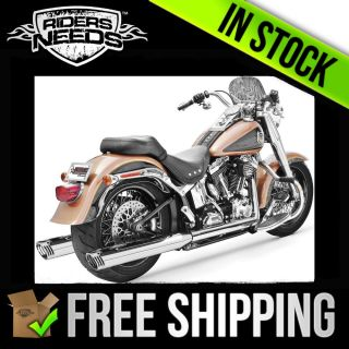 Freedom Performance Racing Dual Exhaust System Chrome HD00220 Harley Davidson