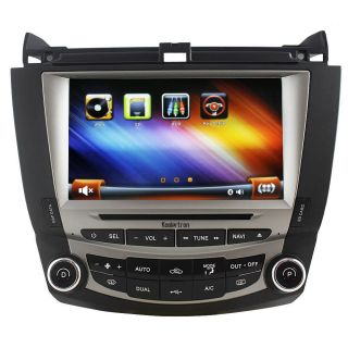 Auto Car DVD GPS Navigation Radio Stereo for Honda Accord 2003 2007