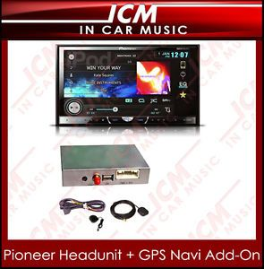 Pioneer Double DIN Bluetooth Car DVD USB Aux CD Player GPS Navigation Stereo