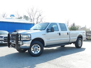 2007 Ford F350 4x4 FX4 Off Road Crew Cab Long Bed Power Stroke Diesel Turbo