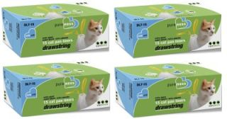 60 Count Van Ness x Giant Drawstring Cat Litter Pan Liners Fits CP3 CP7