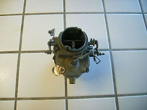 Carter 2 bbl Carburetor 4828 s 73 Dodge Truck or Van 360 Engine w Adapter