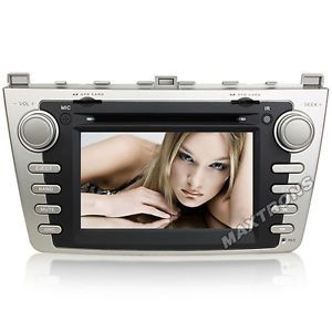 Car DVD GPS Navi Headunit Autoradio for New Mazda 6 2008 2011 Free Camera