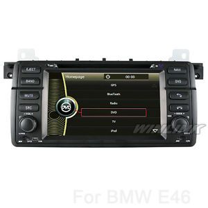 Car GPS Navi Navigation in Dash Car DVD Player GPS for Car BMW 3 E46 M3 3 Series