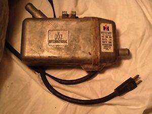 International Harvester Hotstart Hot Start Engine Block Heater Starter Farmall