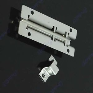 Door Stainless Steel Latch Barrel Bolt Latch Hasp Stapler Gate Lock Safety