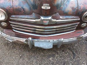 46 47 48 Ford Front Bumper Filler Splash Apron Pan Gravel Deflector Panel