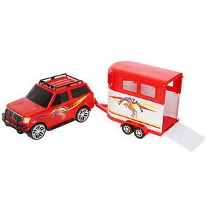 Chestnut Ridge Horse Trailer and Vehicle Set