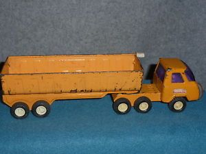 Vintage Toy Buddy L Dump Truck Transport Gravel Stone Sand