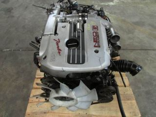 JDM Nissan Skyline GTT R34 Neo RB25DET Engine Motor Only ECU