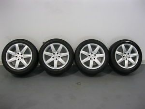 "17"" Mercedes SL 500 Factory Wheels Rims with Michelin Tires"
