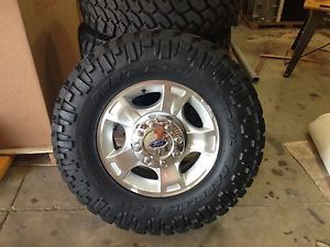 Ford Super Duty Rims and Tires
