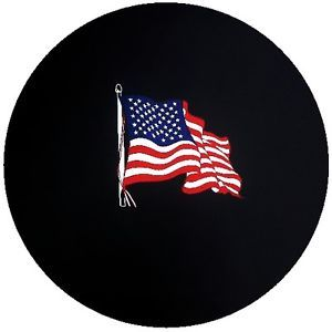 Customgrafixtirecovers™→american Flag Spare Tire Cover for Jeeps or RV'S