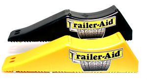 Trailer Aid Drive on Horse Cargo Tandem Trailer Tire Changing Ramp Jack Stand