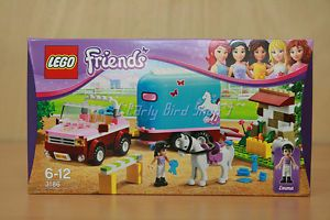 Lego 3186 Friends Emma's Horse Trailer MISB Mint in SEALED Box with Tracking