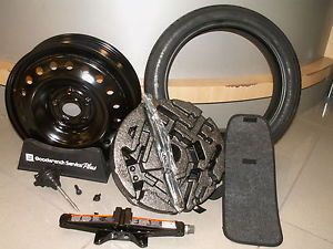 13 Chevrolet Malibu New GM Spare Tire Kit Tire Wheel Jack and Tools Spair
