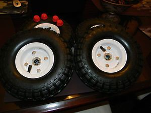 Radio Flyer Wagon Pneumatic Wheels Tires Conversion Parts Replace Hard Tires