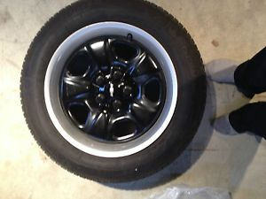 2010 2013 Chevrolet Camaro Factory Steel Rims Mounted Michelin Winter Tires 4