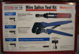 Ford Motorcraft Electrical Wiring Harnesses Wire Splce Tool Kit