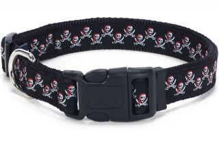 "Douglas Paquette Nylon Dog Collars Leads Harnesses ""Buccaneer"" Design"