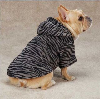 Dog Animal Print Cuddler Hoodie Sweater Hoodies Pet Leopard Zebra Casual Canine
