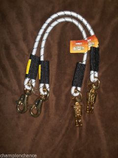 "Two 2 Bungee Saftey Shock Trailer Tie Horse Trailer Tack Lot Barn Stall 29"" New"