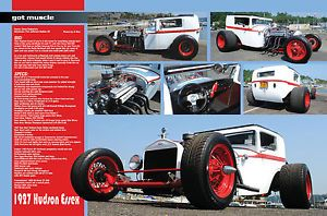 1927 Hudson Essex Ford Model T A Hot Rod Gasser Custom Kustom Street Rod Rat Rod
