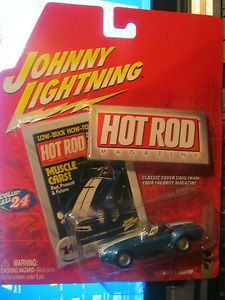 Shelby Cobra 427 s C Hot Rod Magazine Johnny Lightning JL 1 64 Lot O