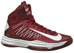 New Nike Lunar Hyperdunk Mens Basketball Shoes Size 18 Maroon Red $140 MSRP