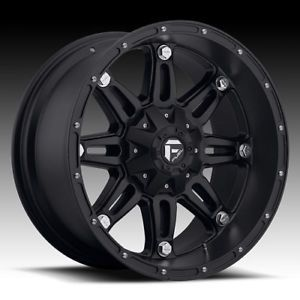 "18"" Fuel Hostage Black Rims 305 60 18 Nitto Terra Grappler at Wheels Tires"
