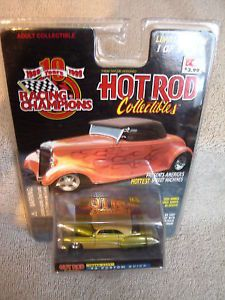 Racing Champions Hot Rod 1949 Custom Buick Green