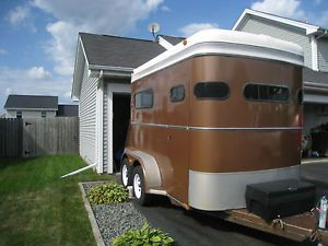 1989 Kiefer Built Horse Trailer