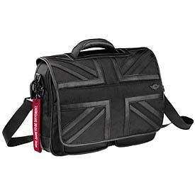 Mini Cooper Black Jack Briefcase Shoulder Strap Bag New