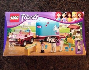 Lego Friends Emma's Horse Trailer 3186 New in SEALED Box
