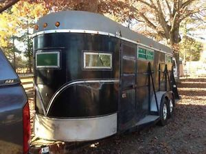 1978 Imperial 4 Horse Bumper Pull Horse Trailer with Four Seperate Stalls