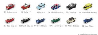 Zerobasic Mini Cooper Police Car USB Flash Drive 4GB with Carrying Bag Miniature