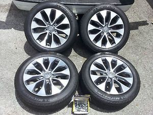 "2013 Honda Accord 17"" Wheels Tires Factory New 215 55 17 Michelin"