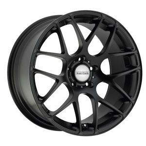 "19"" Avant Garde M310 Matte Black Wheels Rims Fit Mitsubishi Lancer Evolution 10"