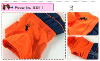 Dog Cat Clothes Skirts Polo Embroidered Hoodie Dresses E304