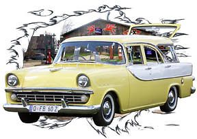1960 Yellow Holden FB Wagon Custom Hot Rod Garage T Shirt 60 Muscel Car Tee'S