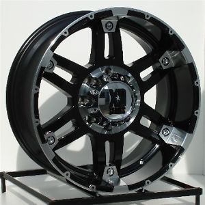 20 inch Black Wheels Rims Ford F250 F350 Super Duty 8 Lug Truck 8x170 XD 797 Spy