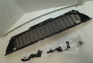 Mini Cooper 10627110 Black Plastic Front Grille Kit for 2009 Mini Cooper