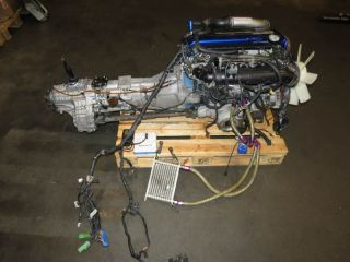 JDM Nissan Skyline GTR R32 RB26DETT Tomei Engine 5 Speed APEXI Power ECU