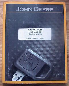 John Deere 410D 510D Backhoe Tractor Loader Parts Catalog Manual PC2322 JD